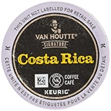 Van Houtte Costa Rica Single Serve Keurig Certified K-Cup pods for Keurig brewers, 24 Count