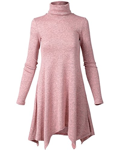 Luna Flower Womens Sweater Dresses product image
