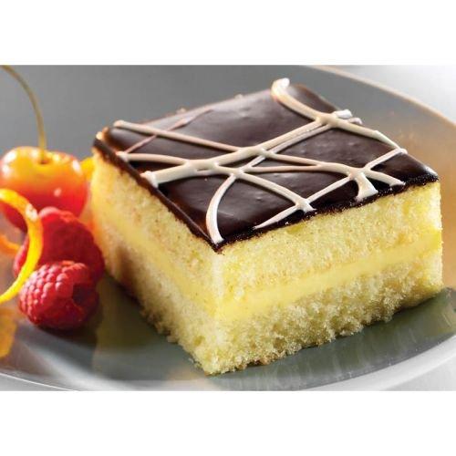 The Original Cakerie Two Layer Boston Cream Dessert Cake - 2 per case.: Amazon.com: Grocery & Gourmet Food