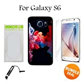 3in1 vape - Colorful Vape Smoke Custom Galaxy S6 Cases-Black-Plastic,Bundle 3in1 Comes with HD Tempered Glass/Universal Stylus Pen by innosub