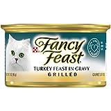 Purina Fancy Feast Grilled Turkey Feast in Gravy Adult Wet Cat Food - (24) 3 oz. Cans