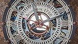 Automaton Skeleton Sky Pastel 1722 moving Gears