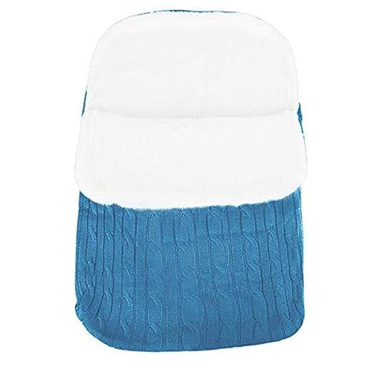 laamei Manta de Invierno para Bebé Recién Nacido Manta Envolvente Saco de Dormir Swaddle Diseño Universal y Multifunción para Sillas de Bebé, ...
