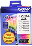 Brother International LC2053PKS Super High Yield Xxl 3 Pack