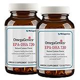 Metagenics OmegaGenics EPA-DHA 720 Lemon 120 Softgels - TwinPak