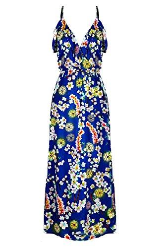 G2 Chic Women's Bohemian Summer Maxi Dress(DRS-MAX,RYBA2-XL)