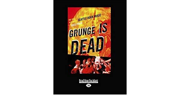 GRUNGE IS DEAD PRATO EPUB