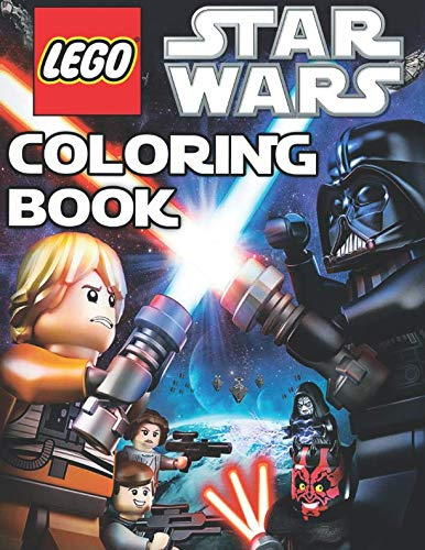 LEGO STAR WARS Coloring Book: 19 Exclusive Illustrations