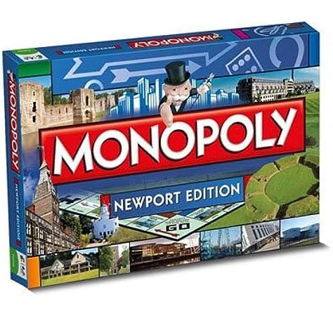 Monopoly - Juego de Tablero, de 2 a 6 Jugadores (Winning Moves 22842) (Importado): Amazon.es: Juguetes y juegos