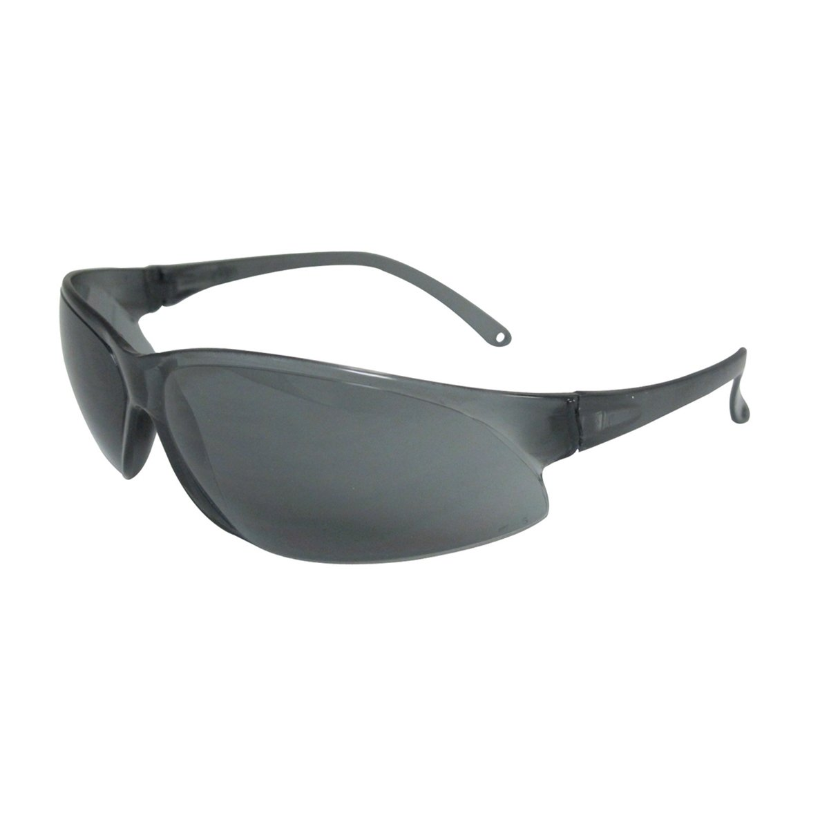 One Size Gray Plastic ERB Safety 16516 Superbs Safety Glasses Frame with Anti-Fog Lens