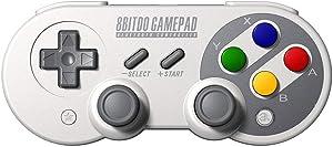 8Bitdo SF30 PRO Bluetooth Gamepad [Importación inglesa]