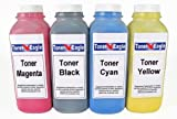Toner Eagle Brand Compatible Samsung CLP-610 CLP-610ND CLP-660N CLP-660ND CLX-6200FX CLX-6200ND CLX-6210FX CLX-6240FX Four Color Toner Refill Kit. Refills Samsung CLP-K660A CLP-C660A CLP-M660A CLP-Y660A Toner Cartridges. Kit Includes 4 Reset Chips, Office Central