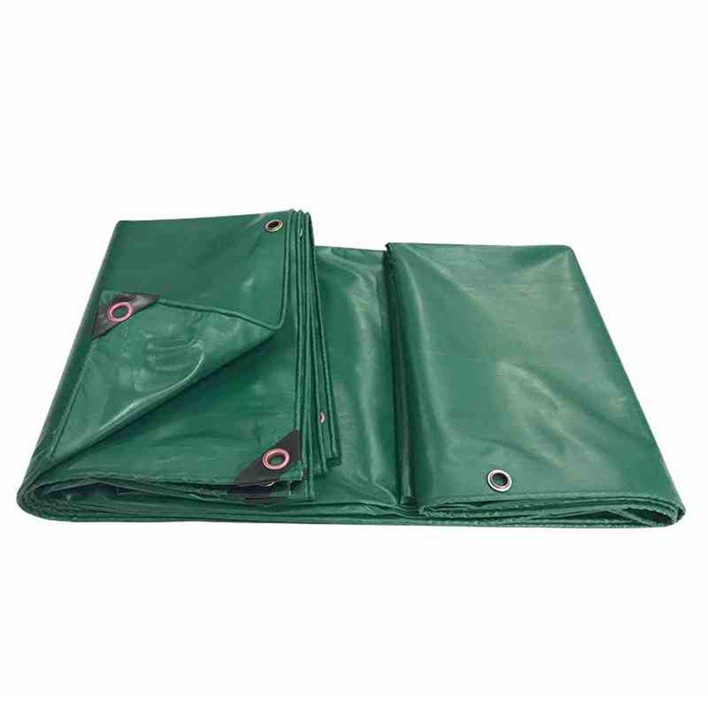 CAOYU Wasserdichtes Sonnenschutz-Abdeckungs-Fracht-LKW-staubdichtes windundurchlässiges Schuppengewebe Anti-Oxyd der Plane der Gartenarbeitanlage, grün