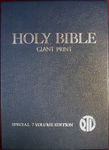 PTL Club KJV Holy Bible Giant Print Special 7 Volume Edition (Ptl Club)