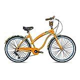 Margaritaville 26' Cruiser Women's Cruiser Bike w/Sturdy Handles & Alloy Frame