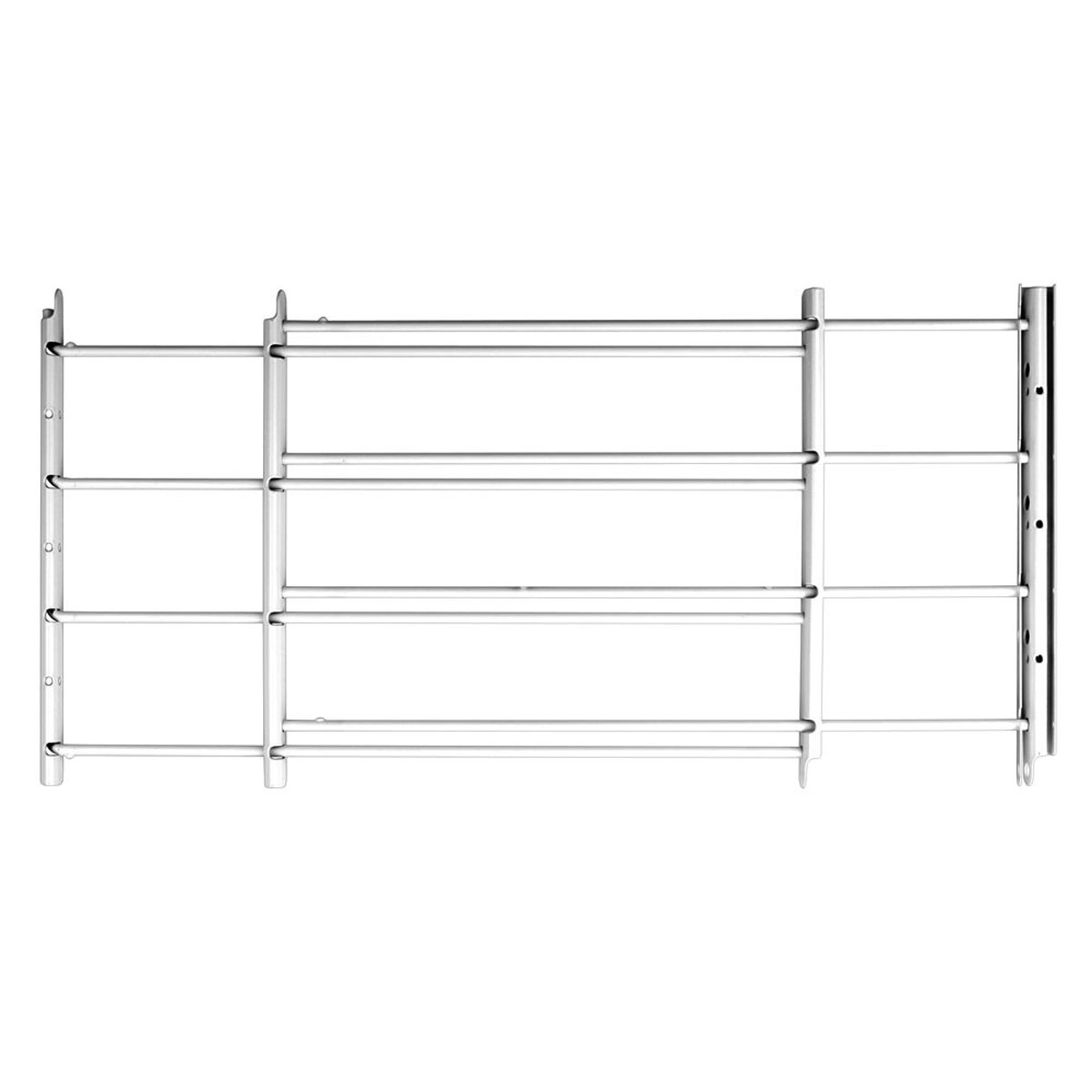 John Sterling 4Bar Basic Fixed Window Guard,14x14-24 Inches White by Knape & Vogt