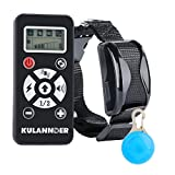 Kulannder Advanced Automatic Training Collar for Dogs--800yds Remote, Rechargeable and Waterproof Training Collar with Automation, Static Shock, Vibration, Beep and LCD Screen Electronic Collar.