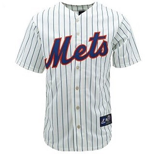 Majestic Athletic New York Mets Cool Base Home Jersey Extra Large