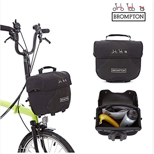 BROMPTON Mini O Bag Luggage Travel Bags for Bicycle, Storage Case Black Reflective by BROMPTON (Image #6)