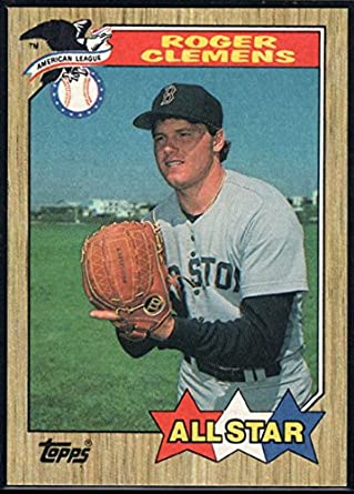 Amazoncom 1987 Topps Official Mlb Baseball Card 614 Roger