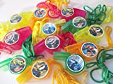 Blaze and the Monster Machines WHISTLES Necklaces - 12PK - Assorted colors