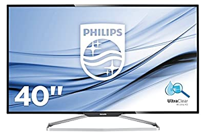 "Philips BDM4065UC 40"" Class 4K Monitor UHD 3840 x2160 Resolution, Speakers, USB Hub, VGA, DisplayPort, Mini DisplayPort, HDMI, MHL-HDMI"