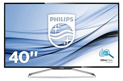 "Philips - 39.65"" Led Uhd Monitor - Black"
