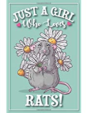 Rat Journal - Rat Notebook: with MORE RATS INSIDE! This 6x9 cute rat diary /adorable rat composition notebook has 121 lined pages for a fancy rat mom to write