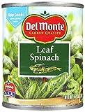 Del Monte Spinach, 7.75 oz, 12 pk