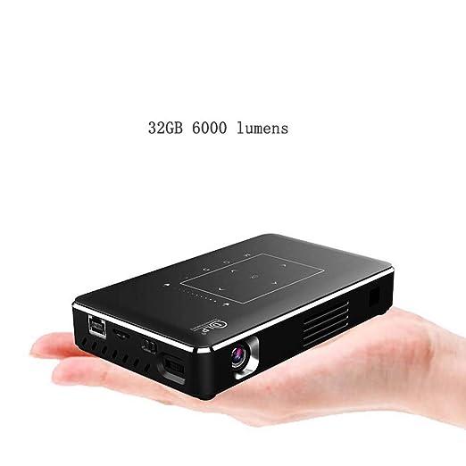 Mankvis Proyector para el hogar pequeño Mini WiFi Micro 4000 ...