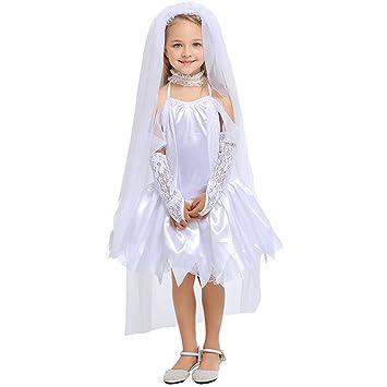 Hallowmax Deguisement Halloween Costume pour Les Filles 4,12