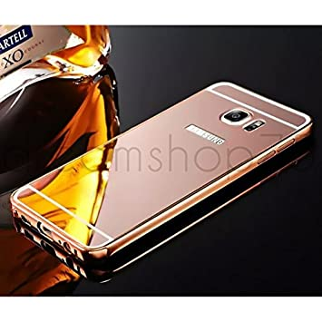 coque galaxy s6 rose gold miroir