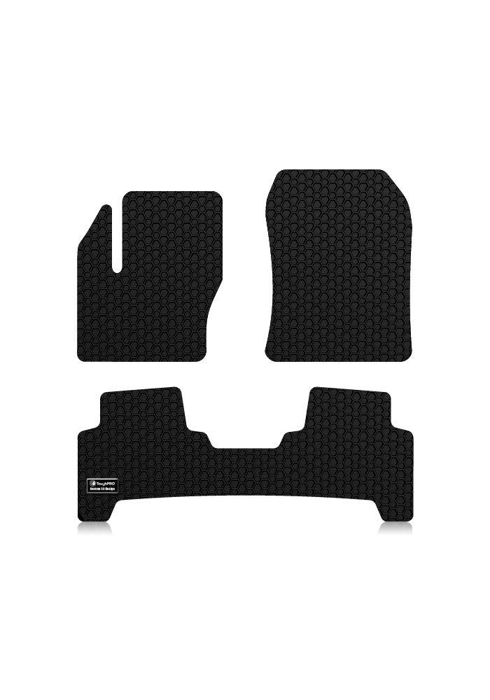 Black Rubber - FBA/_323012 Heavy Duty All Weather 2013-2014-2015-2016-2017-2018 ToughPRO Ford Escape Floor Mats Set