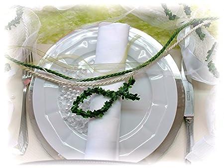 10 Fische Buchs Band Weiss Kommunion Konfirmation Streudeko Taufe