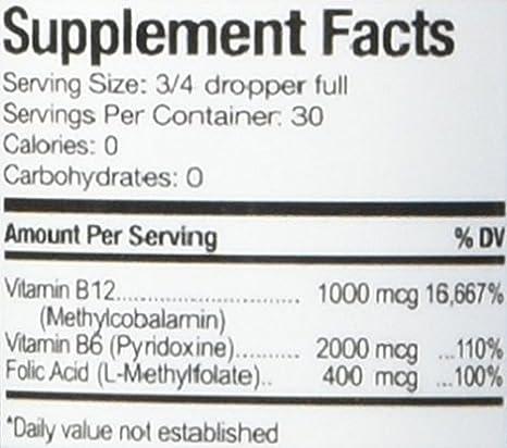 Amazon.com: anumed Internacional Vitamina B 12 Complex 1000 ...