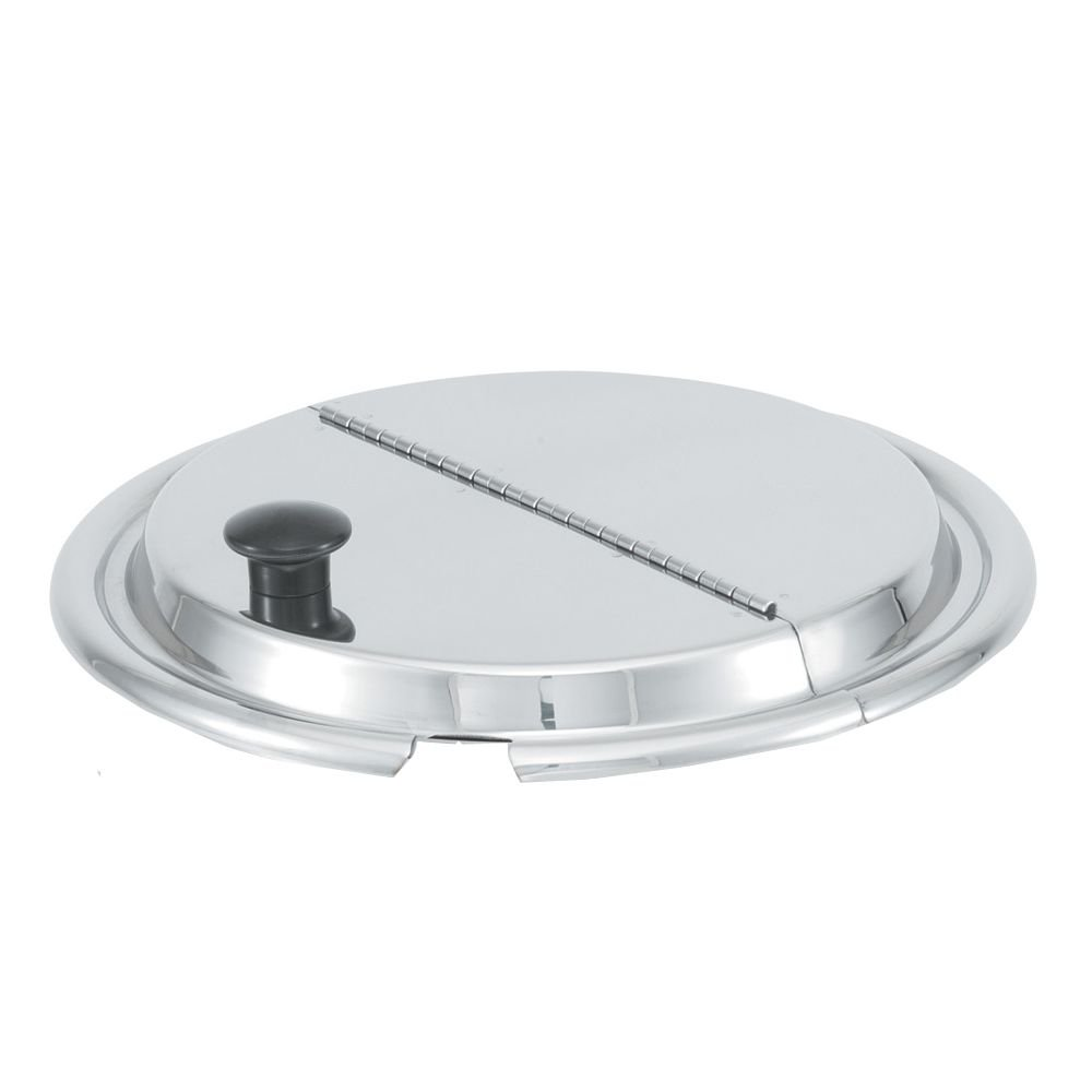 Vollrath 47486 S/S 7-1/2'' Hinged Inset Cover