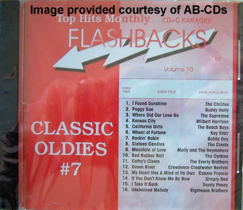 Price comparison product image Top Hits Monthly Flashbacks - Classic Oldies #7, Vol 10