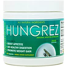 VH Nutrition | HungrEZ | Appetite Stimulant for Men and Women | Natural Weight Gain Pills - 30 Day Supply - 60 Capsules