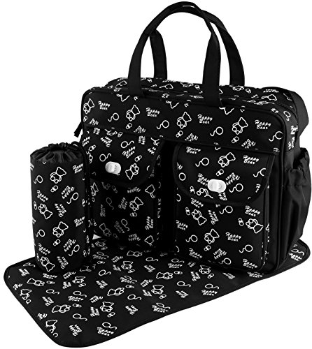 GPCT Baby Diaper Tote Stylish Nappy Messenger Insulated Bag