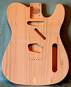 Unfinished Telecaster Style Poplar Guitar Body