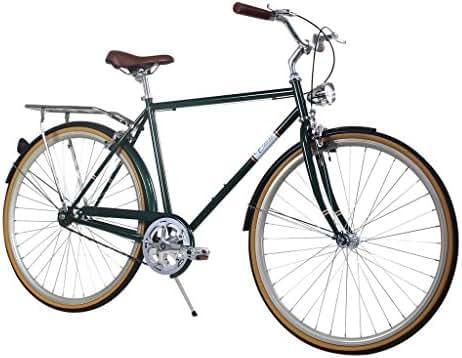 Zycle Fix Civic Men - Forest - Men City Series Single-Speed Urban Commuter Bike