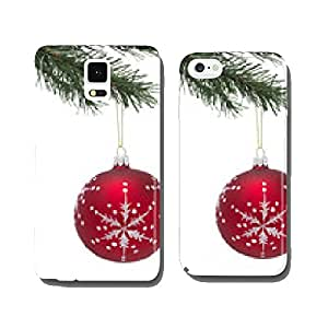 Bauble and Christmas tree cell phone cover case iPhone6
