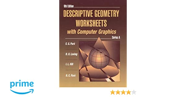 Counting Number worksheets geometry worksheets year 9 : Amazon.com: Descriptive Geometry Worksheets with Computer Graphics ...
