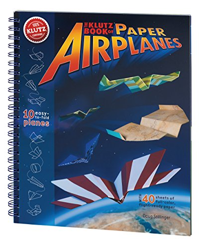 - Klutz Book of Paper Airplanes Craft Kit