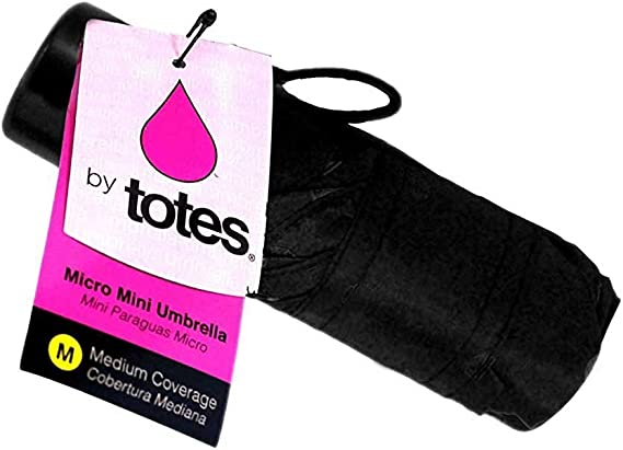 """Car Totes Small Umbrella in Carry Bag PINK 38/"""" Coverage For Purse Backpack"""