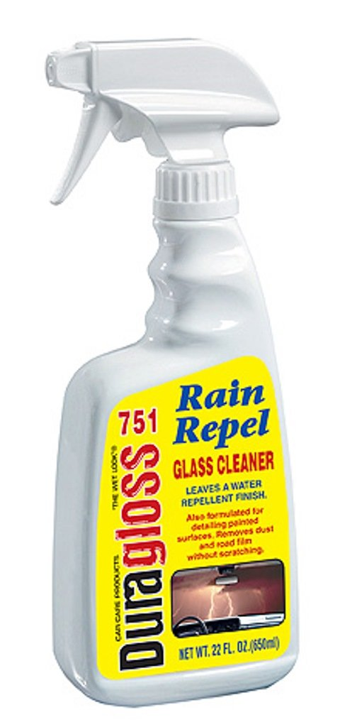 Duragloss 751 Rain Repel 22 Ounce Glass Cleaner