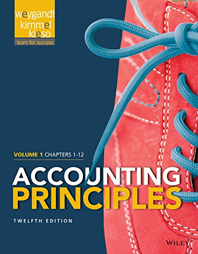Accounting Principles, Volume 1: Chapters 1 - 12