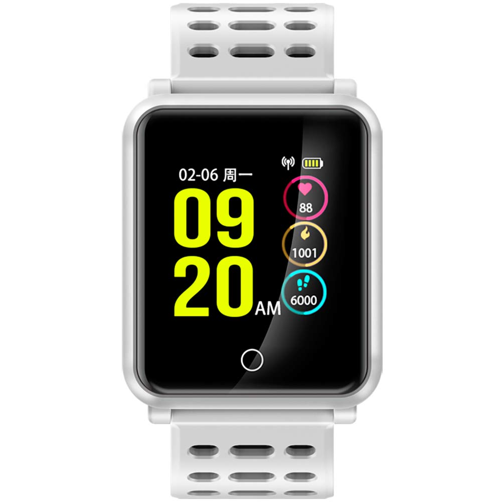 Amazon.com: FocuSmart Watch, New Bluetooth 4.2 Smart Watch ...