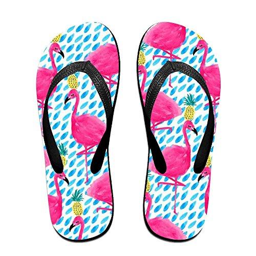 Black Kids Men Women Slippers and PTJHKET Pineapples Flip for Flamingos Flops 8xfxwvqzFT