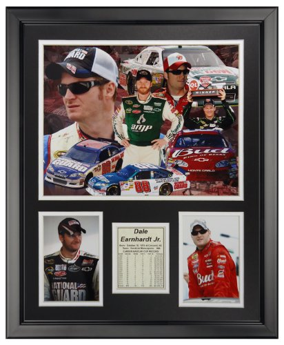 (Legends Never Die Dale Earnhardt Jr. Framed Photo Collage, 16